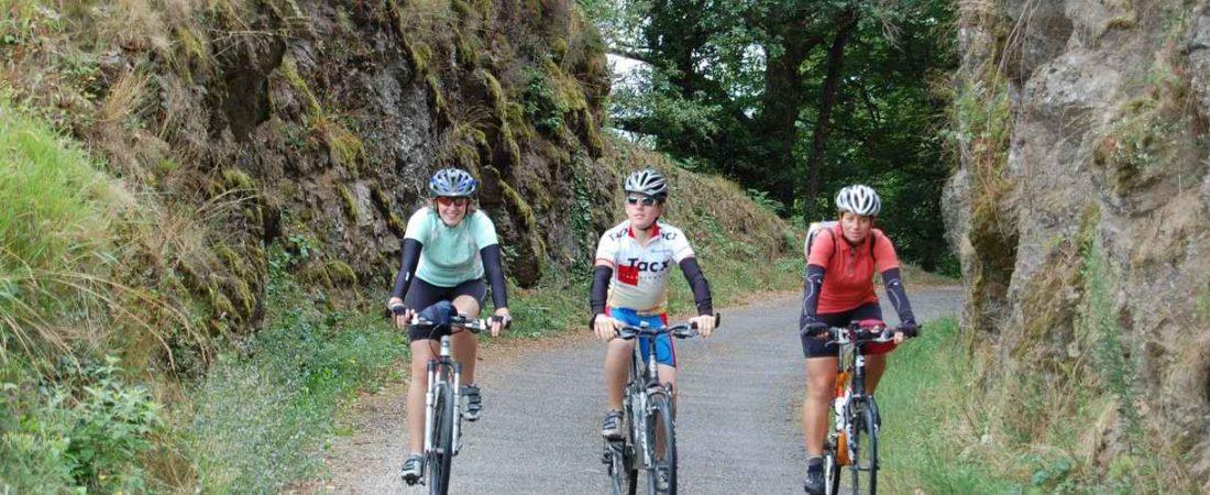 gorges la Dordogne en vélo